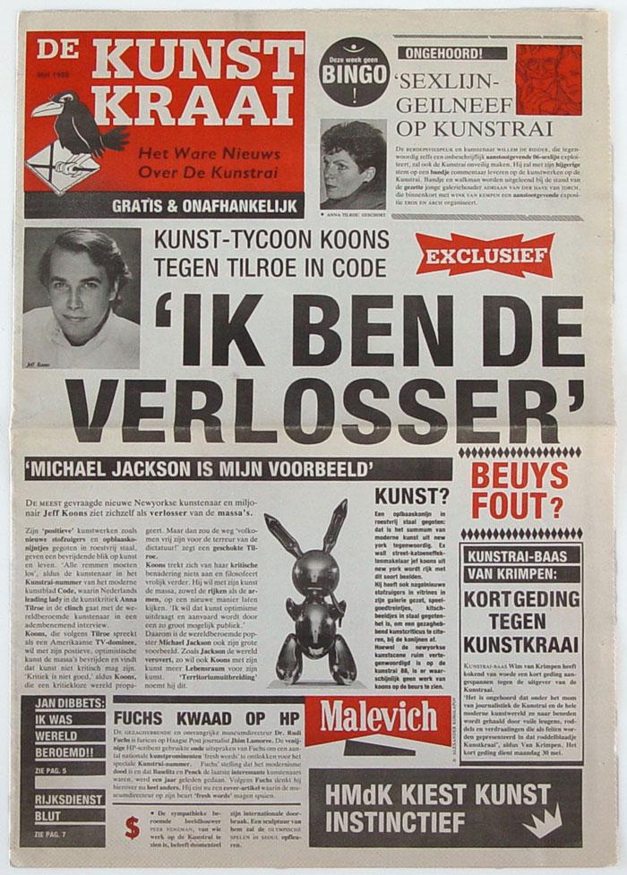 DeKunstKraai1988-cover700