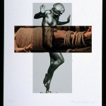 JOHN BALDESSARI, The Intersection Series: Statue/Bound Person, 2002