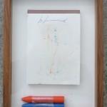 LES LEVINE, Untitled [memo pad], 1985