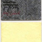 JOSEPH BEUYS, Schwefelpostkarte [1984]