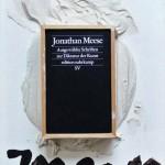 JONATHAN MEESE, Ausgewählte Schriften zur Diktatur der Kunst, 2012