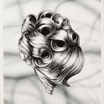 JIM SHAW, Hairdo, 2012