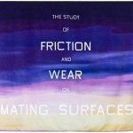EDWARD RUSCHA, The Study of Friction and Wear on Mating Surfaces, 2009