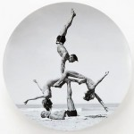 JEFF KOONS, plate edition, 2012
