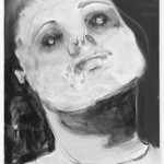 MARLENE DUMAS, In God we trust (paying the ferry man), 2008 [print]