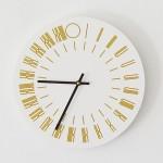 TAUBA AUERBACH, untitled, 2013 [clock]