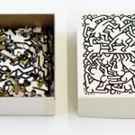 KEITH HARING, untitled [puzzle], ca 1986