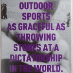 AI WEIWEI, There are no outdoor sports ..., 2013