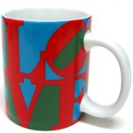 ROBERT INDIANA, LOVE [mug], 2013