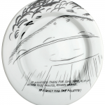 RAYMOND PETTIBON, untitled [plate], 2008