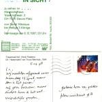 HENK PEETERS, Ausstellung Henk in Sicht? zu sehen im…., 1998 [two postcards]