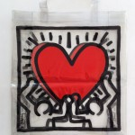 KEITH HARING, Untitled ca 1986 [plastic bag - transparent]