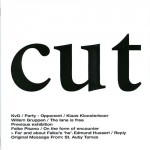 CUT magazine about art, issue #2, 2008