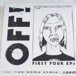 RAYMOND PETTIBON, Off! - First Four EPs, 2010