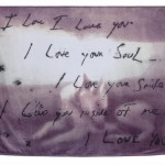 TRACEY EMIN, I Love You, 2010