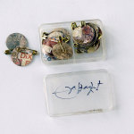 MESCHAC GABA, Untitled, 1997 [money pins]