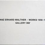 FRANZ ERHARD WALTHER, Works 1958 - 1970, 2003