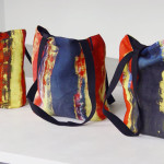 Gerhard Richter Style Tote Bags, 2015 [Abstract Painting]