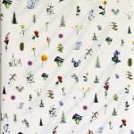 JAAP KRONEMAN, Schilderij met pakpapier / Painting with wrapping paper, 2015