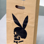 RICHARD PRINCE, Skull Bunny shopping bag, 1991