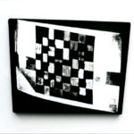 JCJ VANDERHEYDEN, T.V.-checkerboard, 1992 [photo]