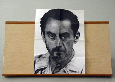 MAN RAY, Self portrait, 1974 [poster as sculptural triptych]