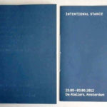 INTENTIONAL STANCE, 2012, artists book [Eric Bell and others]