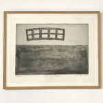 SIGURDUR GUDMUNDSSON, With landscape, 1987 [etching]