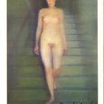 GERHARD RICHTER, Ema (Akt auf einer Treppe), 1966 [signed postcard]