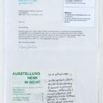 HENK PEETERS, Correspondentie 1997-1998 [word play]