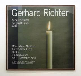 GERHARD RICHTER, Goslar Kerze, 1988 [poster, text]