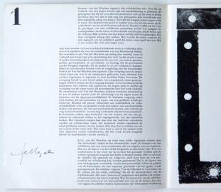 JCJ VANDERHEYDEN, catalogue Stedelijk van Abbemuseum, 1970 [signed]