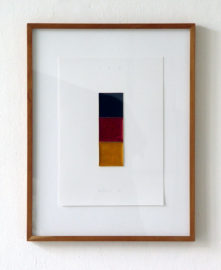 GERHARD RICHTER, Schwarz, Rot, Gold I, 1998