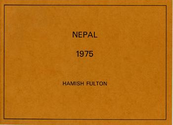 HAMISH FULTON, Nepal, 1975 [artist's book]