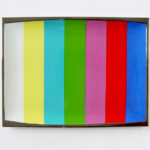 GENERAL IDEA, Test Pattern, 1988 [ TV Dinner plate]