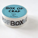 DAVID SHRIGLEY, Box of Crap, 2017 [tape]