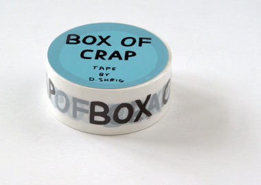 DAVID SHRIGLEY, Box of Crap, 2017 [tape]