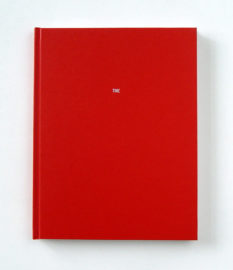 MUNGO THOMSON, Font Study (TIME), 2011 [artist's book]