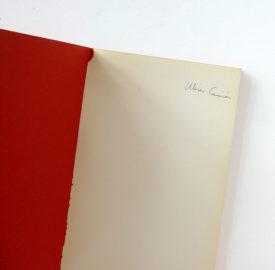ULISES CARRIÓN, Arguments, 1973 [artist's book]