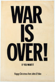 YOKO ONO / JOHN LENNON, War Is Over! If you want it, n.d. [1969]