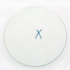 JOËLLE TUERLINCKX, X X, 1999 [le signe d'une croix 'X']