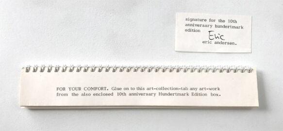 ERIC ANDERSEN, For Your Comfort, 1980