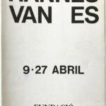 HANNES VAN ES, invitation, 1980 [Fundació Joan Miró]