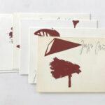 JOSEPH BEUYS, Zeichen aus dem Braunraum I - VI, 1984 [6 signed postcards]