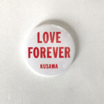 YAYOI KUSAMA, Love Forever, ca 2018 [mini mirror]