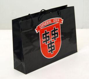 GENERAL IDEA, shopping bag, 1990