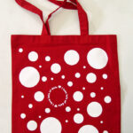 YAYOI KUSAMA, I Love Lots of Dots, 2019 [tote bag]