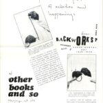 ALLAN KAPROW, announcement, 1977