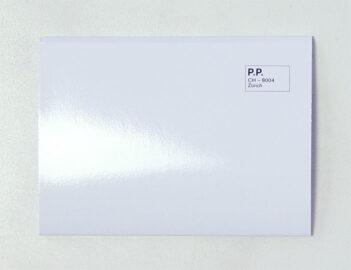 ANNAÏK LOU PITTILOUD, White Between The Darlings, 2014 [leporello postcards]