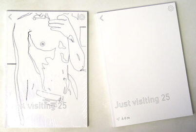 JEAN-MARIE FAHY, Just visiting, 2019 [artist's books]